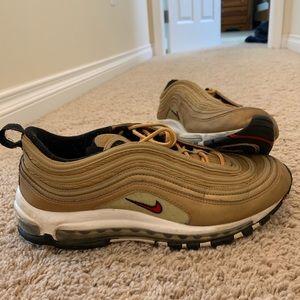 Nike AirMax 97's gold OG